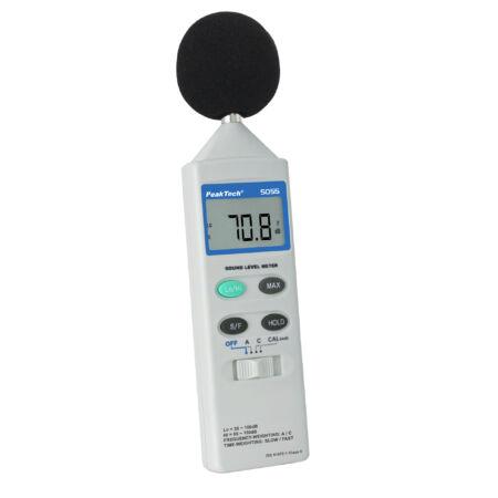 Peaktech 5055 - Digitális zajszintmérő