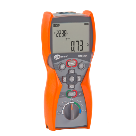 Sonel MZC-304 - Hurokimpedancia mérő